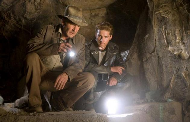 Una scena di Indiana Jones Indiana Jones e il regno del teschio di cristallo