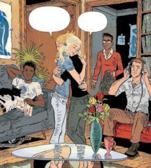 Blue Girl (Dawn) ritrova vecchi compagni nel secondo volume