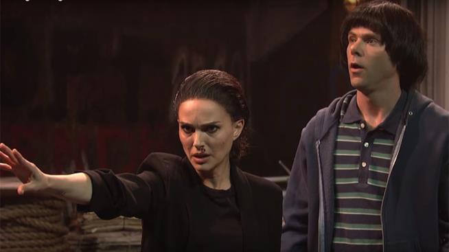 Natalie Portman impersona Undici di Stranger Things nella scorsa puntata del Saturday Night Live