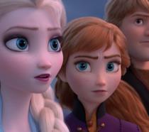 Elsa, Anna e Kristoff