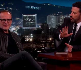 Jimmy Kimmel e Clark Gregg parlano di Agents of S.H.I.E.L.D. 3