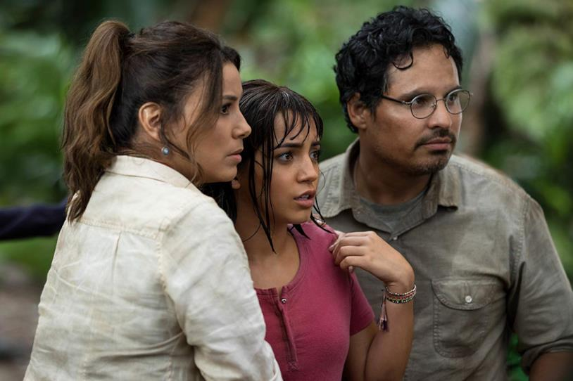 Eva Longoria, Michael Peña e Isabela Moner