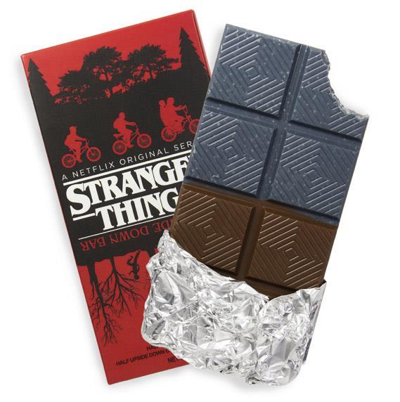 La barretta di cioccolato di Stranger Things che ricorda il sottosopra