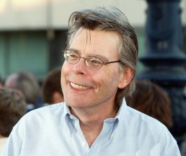 Stephen King in primo piano