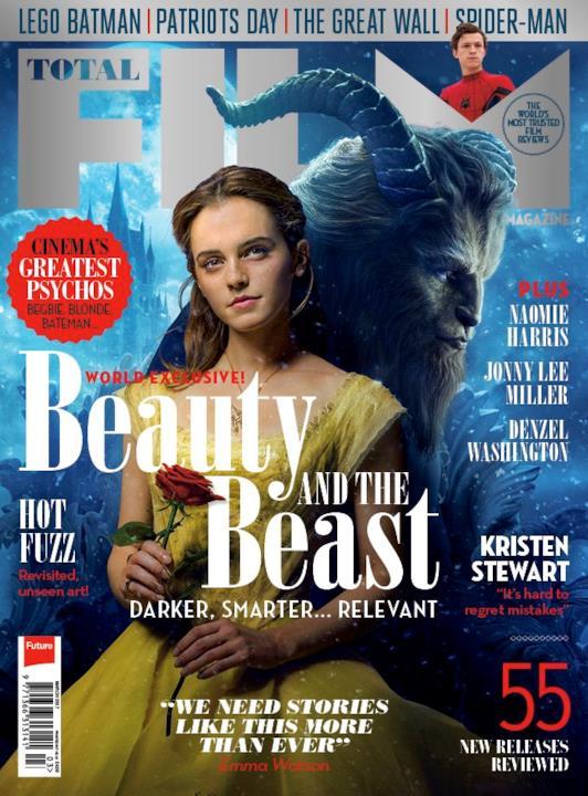 Total Film dedica una copertina a La Bella e la Bestia