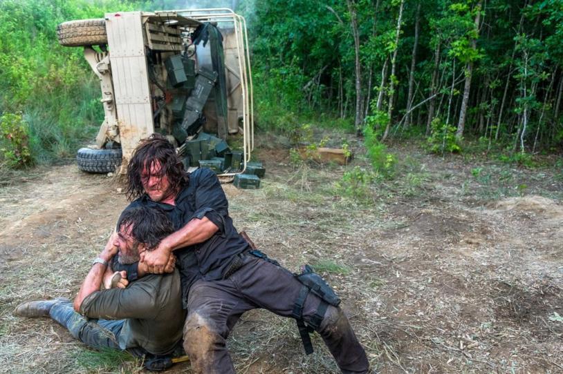 Rick contro Daryl