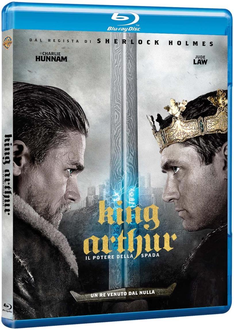 L'edizione home video di King Arthur: Il Potere della Spada