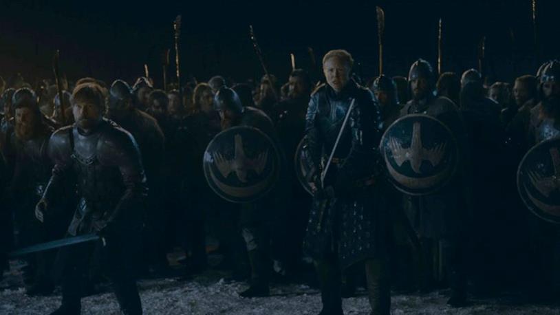 GoT 8x03: Brienne e Jaime pronti all'attacco