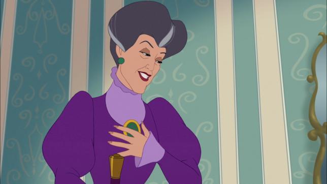 Lady Tremaine in una scena di Cenerentola