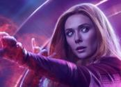 Scarlet Witch nel poster di Avengers 4