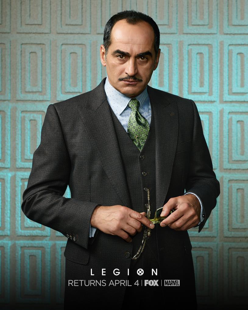 Amahl nel character poster di Legion 2