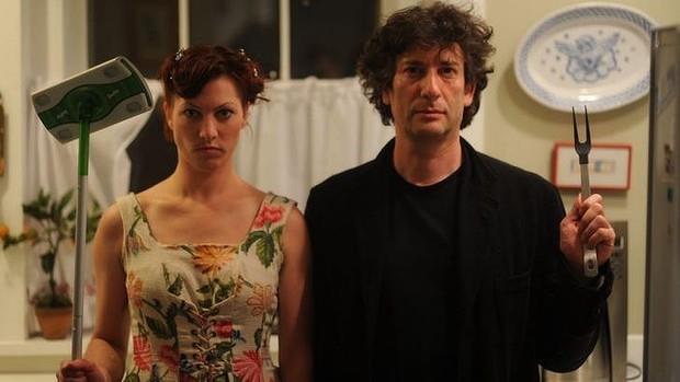 Neil Gaiman assieme ad Amanda Palmer