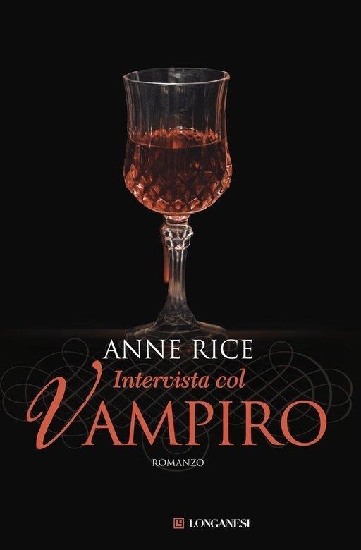 Copertina di Longanesi per Intervista col vampiro