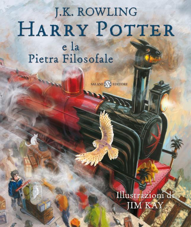 Copertina di Harry Potter e la Pietra Filosofale