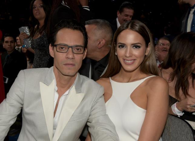Marc Anthony con la terza moglie Shannon De Lima