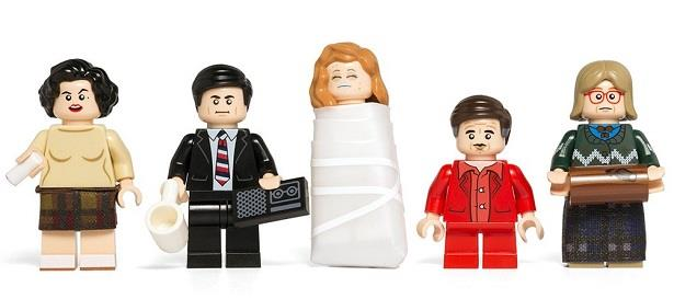 Le mini-figures LEGO di Twin Peaks
