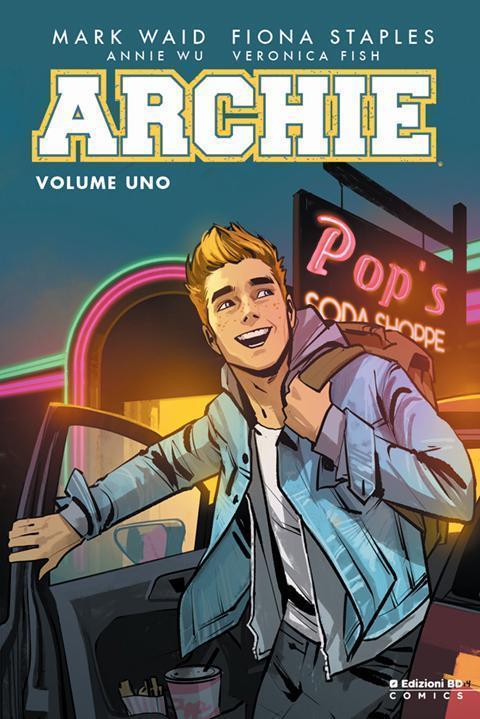 Archie sulla copertina del primo volume in brossura