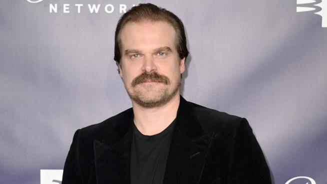 David Harbour a un evento ufficiale