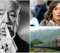 Hitchock, Emily Blunt e il treno