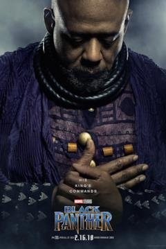 Forest Whitaker è Zuri nel character poster del film Black Panther
