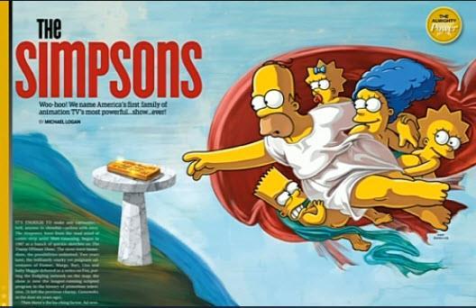 I Simpson sono la serie TV più potente di sempre