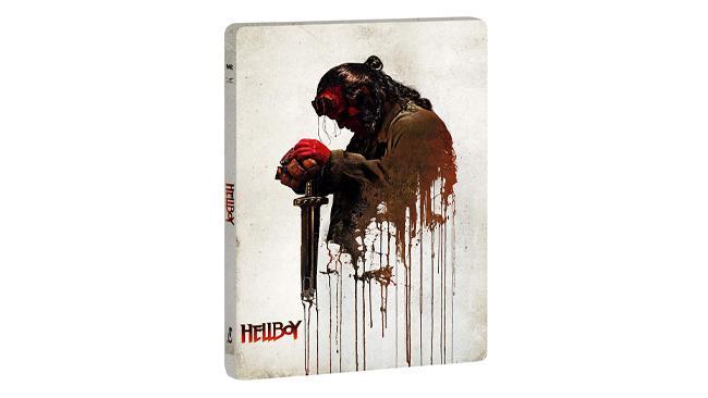 Hellboy - il film in formato Steelbook 4K