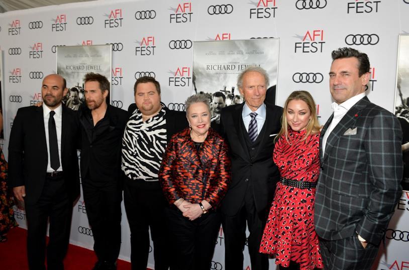 Il cast di Richard Jewell insieme al regista