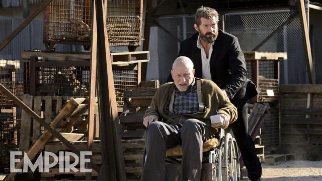 Wolverine porta al sicuro il Professor X