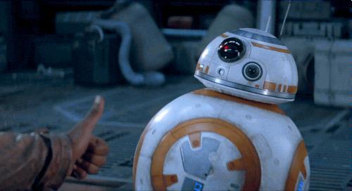 BB-8 il droide della nuovissima trilogia di Star Wars