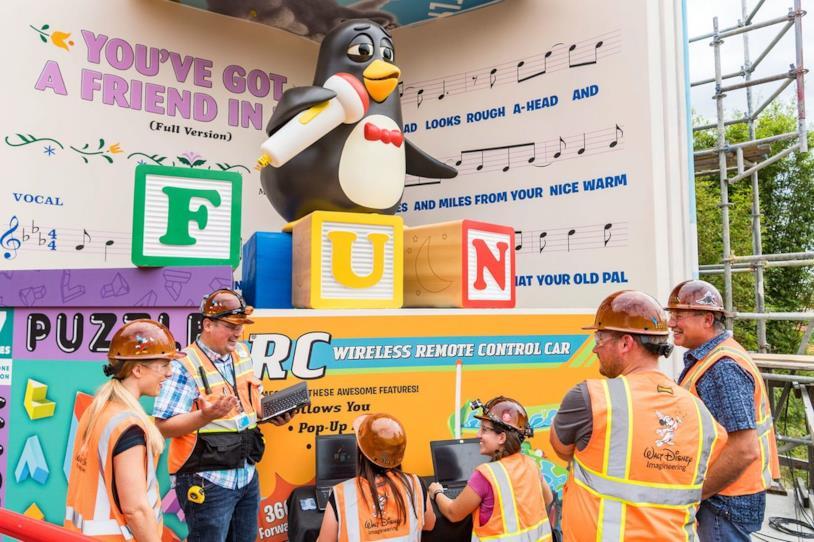 Toy Sory Land: Il pinguino Wheezy di Toy Story avrà un'attrazione tutta sua