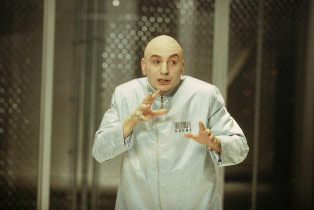 Mike Myers in Austin Powers in Goldmember