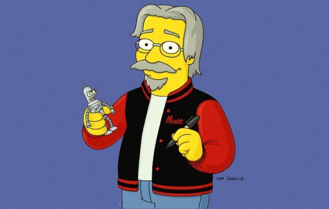 Matt Groening a cartone animato