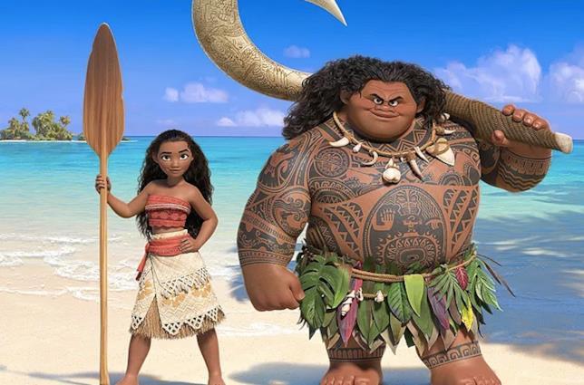 Vaiana e Maui sono i protagonisti di Oceania