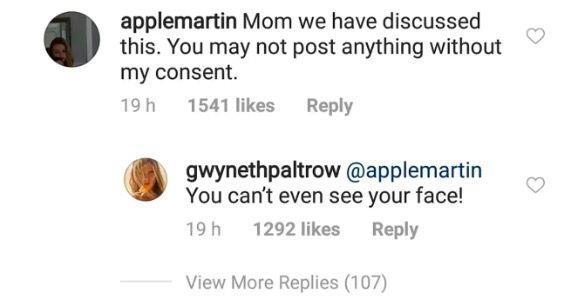 Lo scambio di battute tra Apple Martin e Gwyneth Paltrow