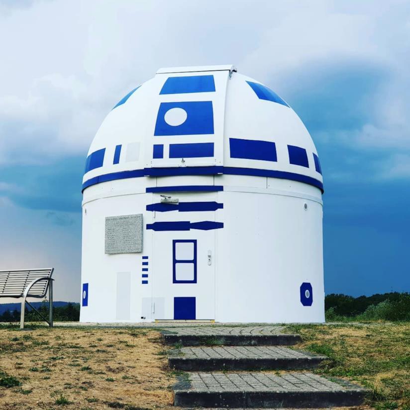 L'R2-D2 più grande della Germania