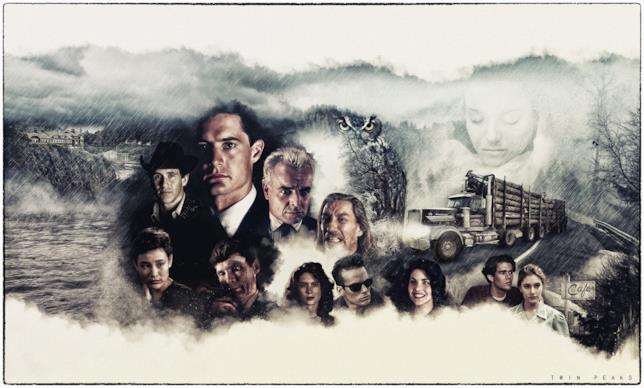 I protagonisti delle prime due serie TV di Twin Peaks