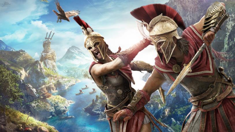 Kassandra e Alexios, protagonisti di Assassin's Creed Odyssey