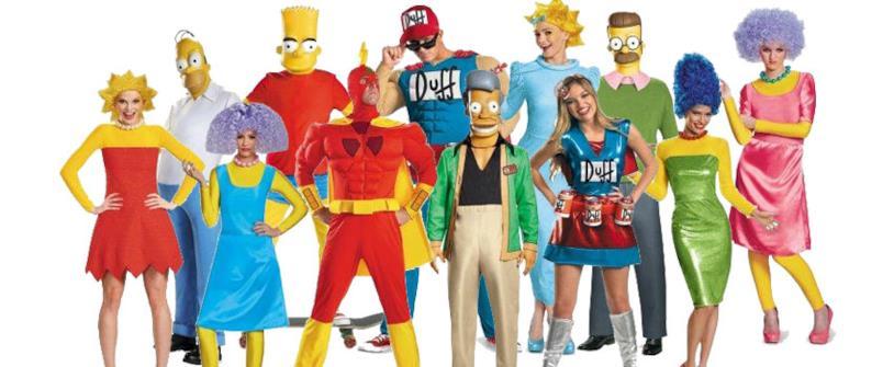 Costumi halloween Simpson
