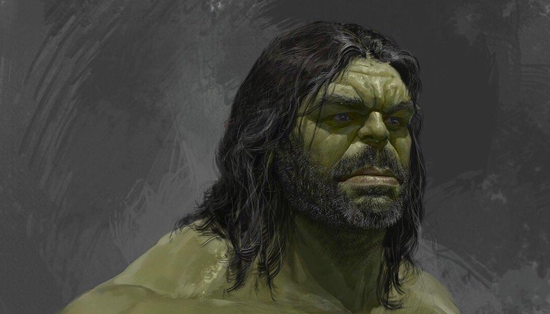 Il terzo look alternativo realizzato per Hulk in Thor: Ragnarok