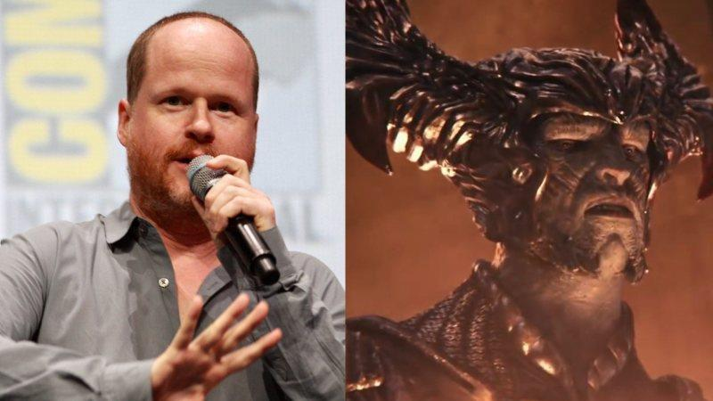 Joss Whedon e Steppenwolf, co-regista e villain di Justice League