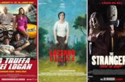 I poster dei film La truffa dei Logan, Lazzaro felice, The Strangers 2: Pray at Night