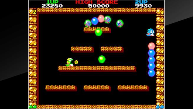 Il gioco Bubble Bobble