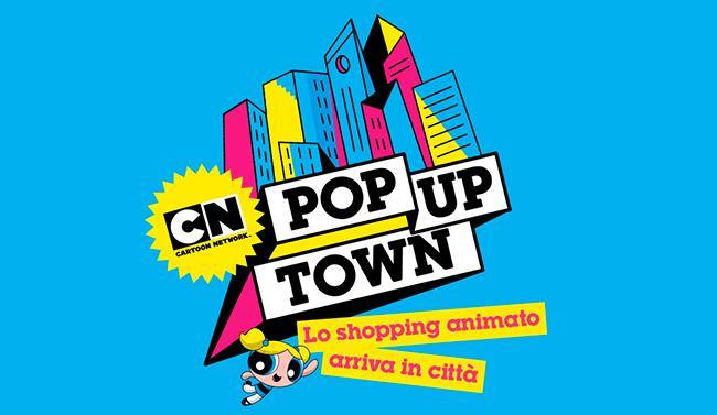 Logo del pop up town di CN