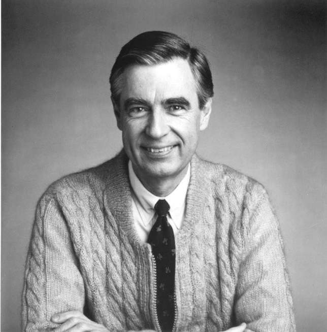 Fred Rogers in primo piano