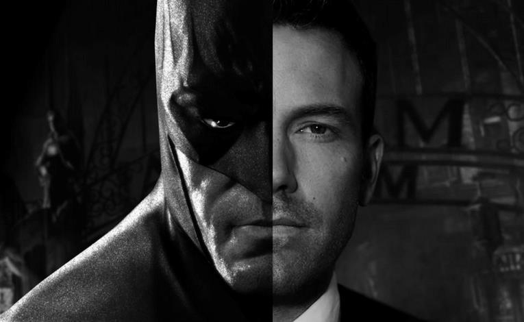 Un collage tra Batman e Ben Affleck
