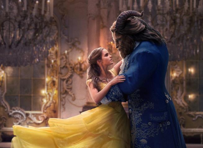 Belle balla con la Bestia nel live-action