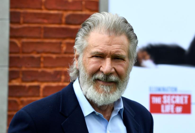 Un barbuto Harrison Ford