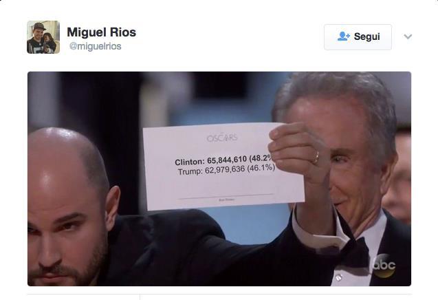 I meme più divertenti sugli Oscar 2017