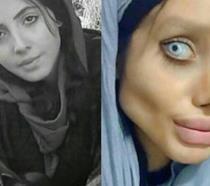 Sahar Tabar, la Angelina Jolie zombie