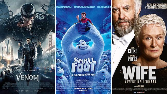 I Film Al Cinema Nel Weekend Del 6 E 7 Ottobre 2018